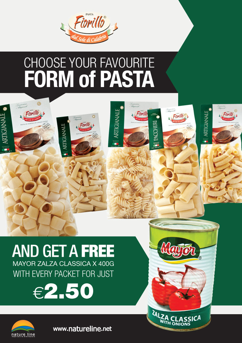Pasta Fiorillo Offer